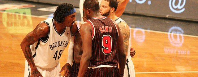 Luol Deng and others against Brooklyn Nets